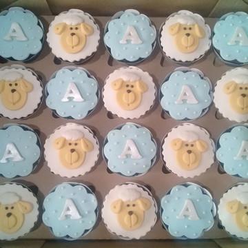 Cupcakes - Ovelhinha (Chá de Bebê)