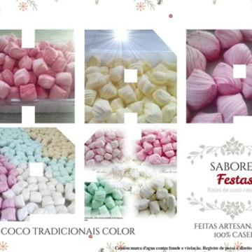 Bala de coco/doces festas aniversário