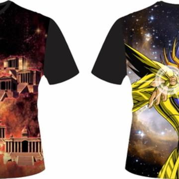 Camiseta Cavaleiros do Zodiaco 04 - Câncer