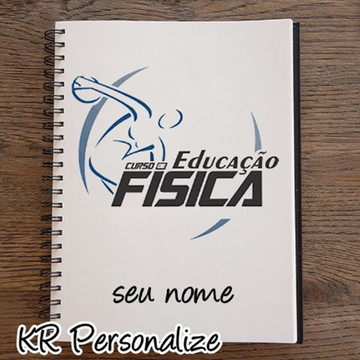 Caderno Personalizado Universitario Curso Ed. Fisica 10 Mat.