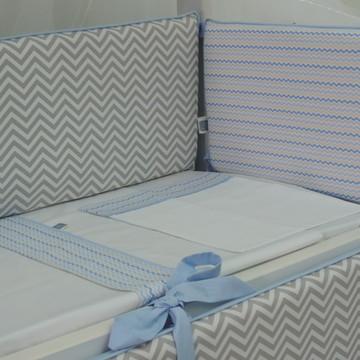 Kit de lençol mini berço