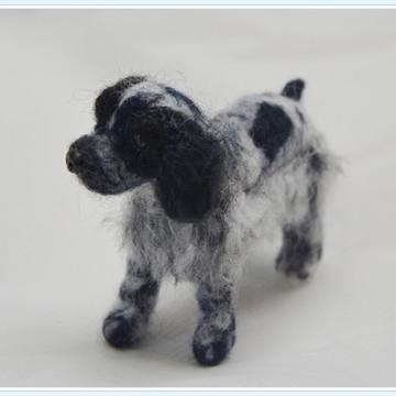 Cachorrinho Cocker Spaniel miniatura