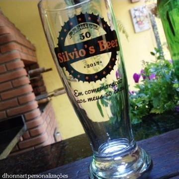 Copo Cerveja Tulipa 200ml Personalizado 24 unid