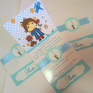 Convite Pequeno Príncipe