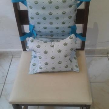 cadeira de pano para alimentação portátil