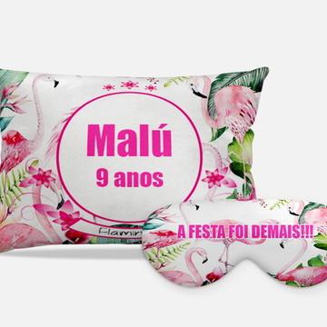 Kit Almofadas + Máscaras, Flamingos