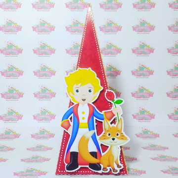 Caixa Pirâmide O Pequeno Príncipe