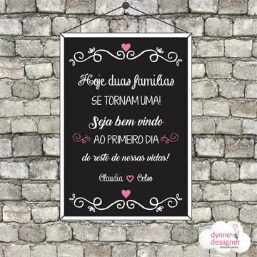 Chalkboard - Casamento