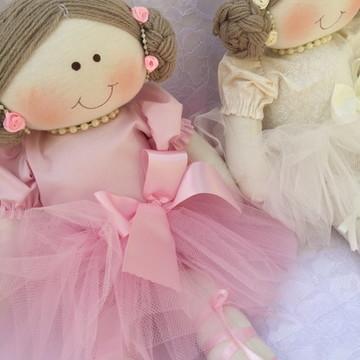 Boneca de pano bailarina Dorothy