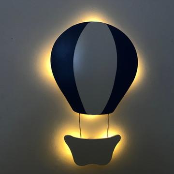 Luminária Balão Com Luz De LED MDF Quarto de Bebê