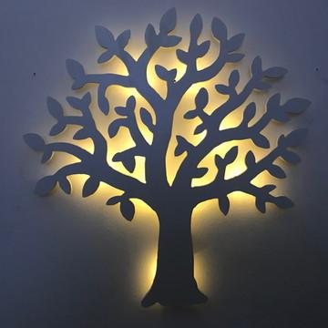 Luminária Árvore Decorativa Luz De LED Quarto De Bebê
