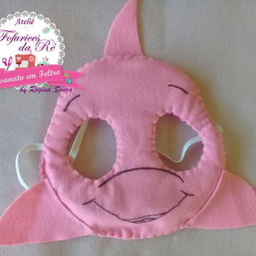 Mascara Boto cor de rosa