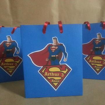 Sacolinha para lembrancinhas Super Homem
