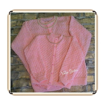 Tal mãe, tal filha - blusa trico