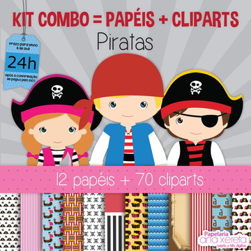 Kit Digital Completo Piratas