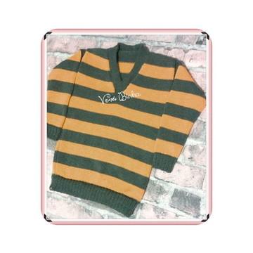 Blusa em trico - 1 a 4 anos