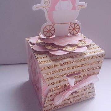 Caixa envelope realeza menina