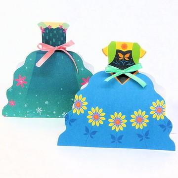 caixa vestido frozen ferver