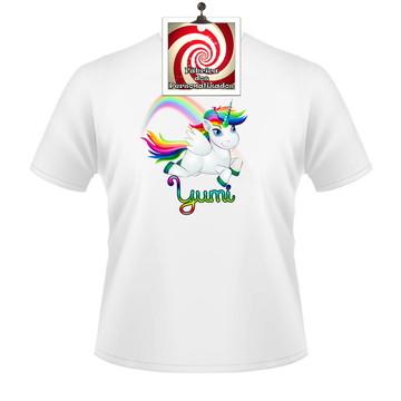 Unicórnio Camiseta Personalizada para presente - Veja!