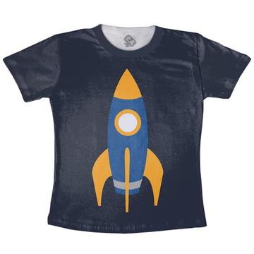 Camiseta Adulto Foguete