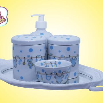Kit higiene porcelana varalzinho 140