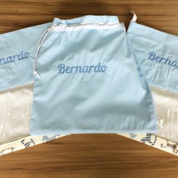 Conjunto Saquinhos para Roupas de Bebê