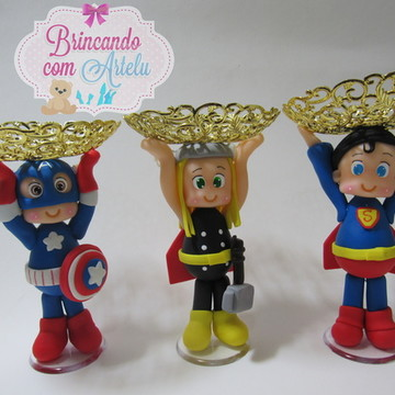 Porta Doce Super Herois