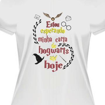 Camiseta carta hogwarts harry