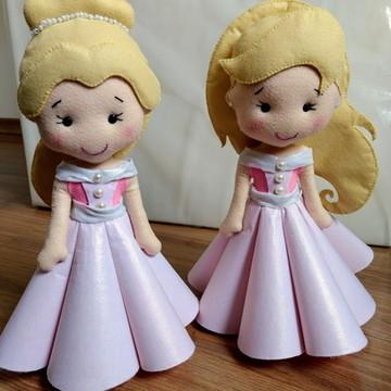 Bonecas Princesas Daminhas