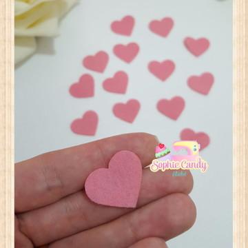 Recortes em feltro - Corações