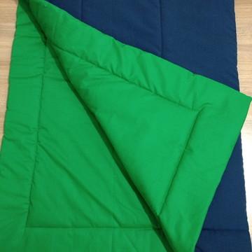 Edredom de Berço Azul e Verde