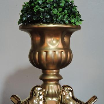 379ba14a4 Vaso grego dourado - Tamanho G