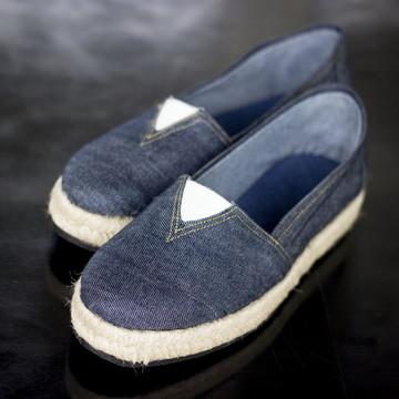 Sapatilha Jeans - Arrastapé - VER DESCRIÇÃO