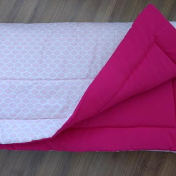 Edredom de Berço Rosa Pink