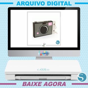 Arquivo De Corte Silhouette Scrap - Câmera Mini Álbum