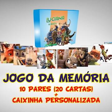 Jogo da Memória Zootopia