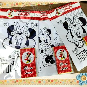 Kit desenho Minnie