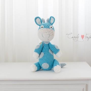 Girafa Azul