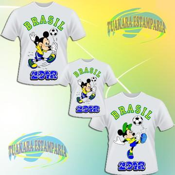 036b633f3 Kit 3 Camisetas Brasil - Copa 2018