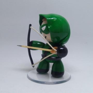 Arqueiro Verde - Miniatura em Biscuit