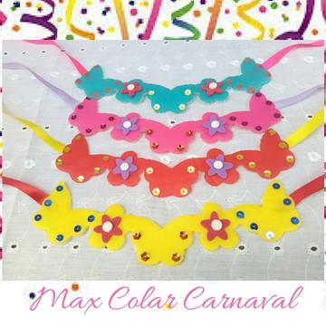 Max colar Pet - Carnaval