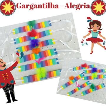 Gargantilha Pet - Carnaval Alegria