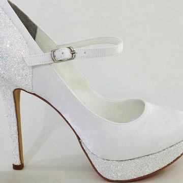 ba711937d8e Sapato De Noiva Branco