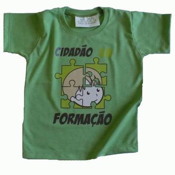 Camiseta Infantil malha PET Cidadão VD