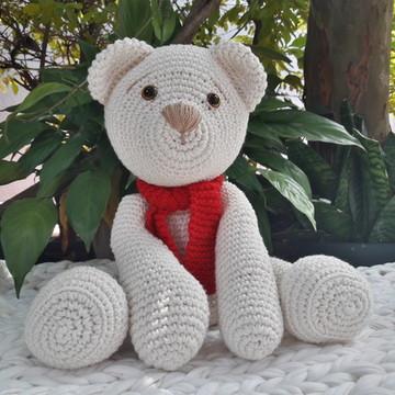Urso amigurumi em crochê