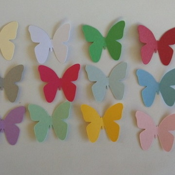 Aplique borboleta 3 cm