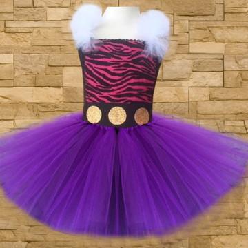 Vestido tutu - Fantasia - Monster High