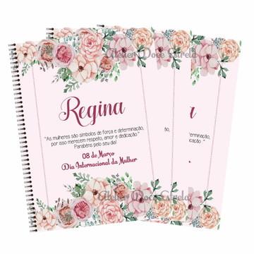 Mini Caderno - Dia Internacional das Mulheres