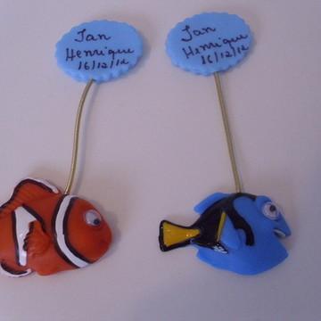 Lembrancinhas Nemo e Dory imãs Aniversario, Maternidade