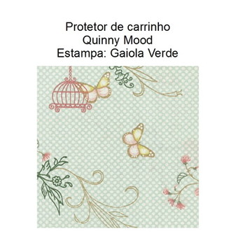 Protetor Carrinho Quinny Mood - Gaiola Verde